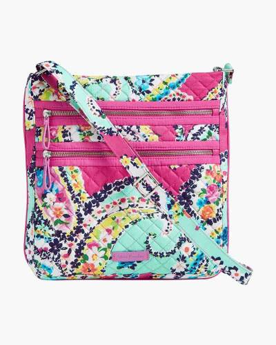 Iconic Triple Zip Hipster in Wildflower Paisley
