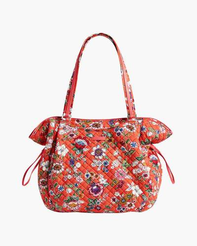 Iconic Glenna Tote in Coral Floral