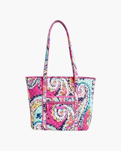 Iconic Small Vera Tote in Wildflower Paisley
