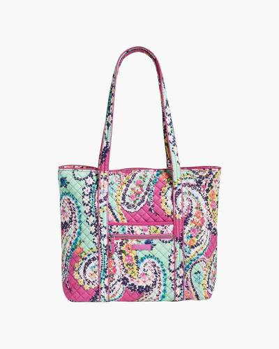 Iconic Vera Tote in Wildflower Paisley