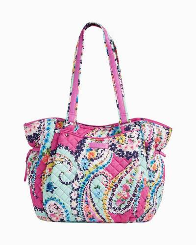 Iconic Glenna Satchel in Wildflower Paisley