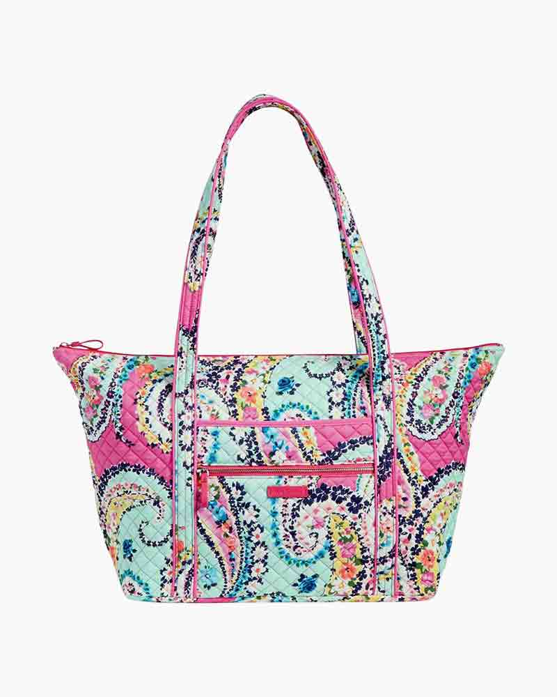 Vera Bradley Iconic Miller Travel Bag in Wildflower Paisley   The Paper  Store d0f8e2c4c1
