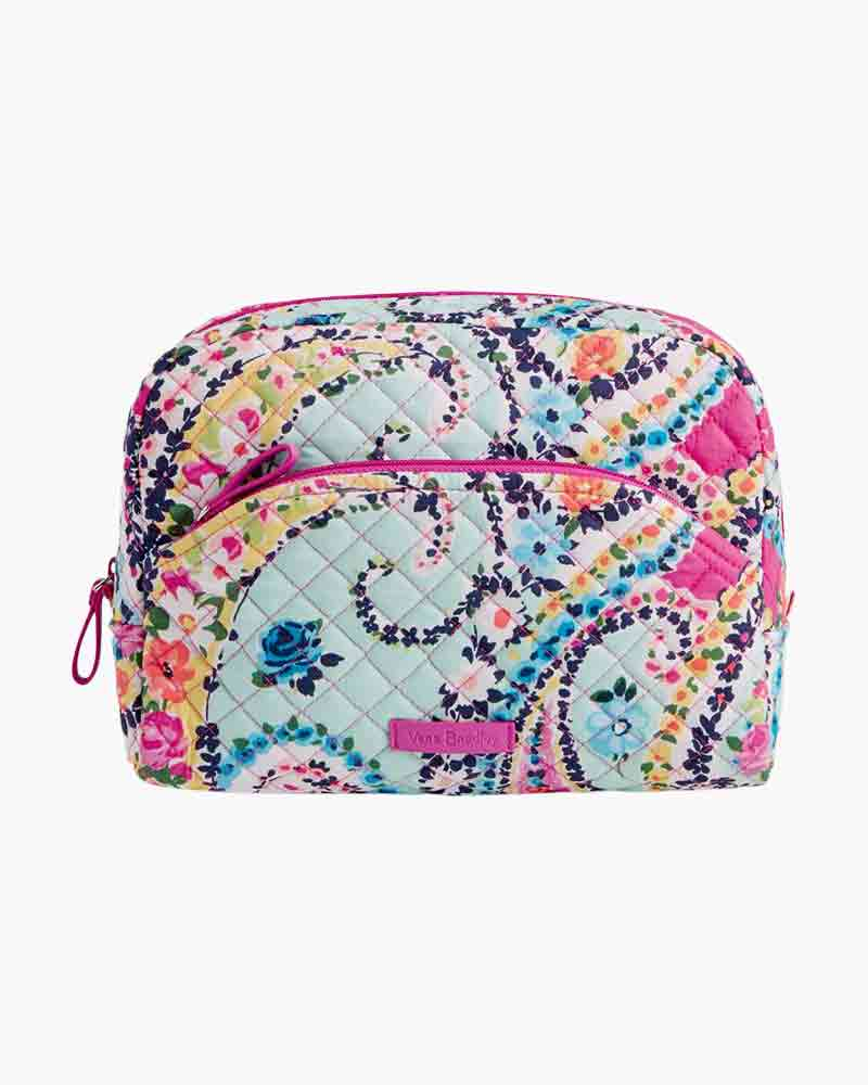 2e6efeba286d Vera Bradley Iconic Large Cosmetic in Wildflower Paisley