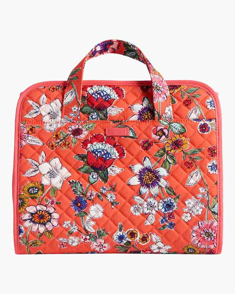 5e09ff5297 Vera Bradley Iconic Hanging Travel Organizer in Coral Floral