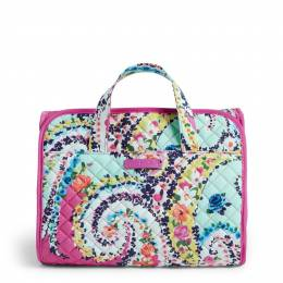 Vera Bradley Iconic Hanging Travel Organizer in Wildflower Paisley