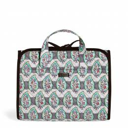 Vera Bradley Iconic Hanging Travel Organizer in Paisley Stripe