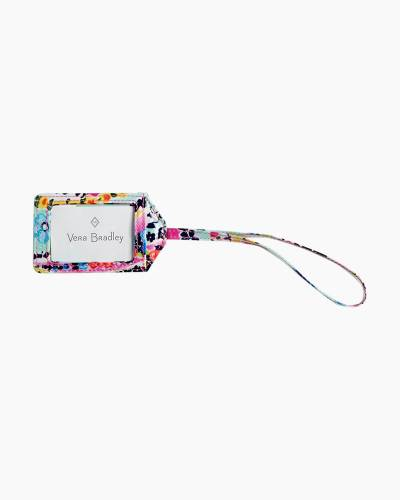 Iconic Luggage Tag in Wildflower Paisley