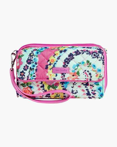 Iconic RFID All in One Crossbody in Wildflower Paisley