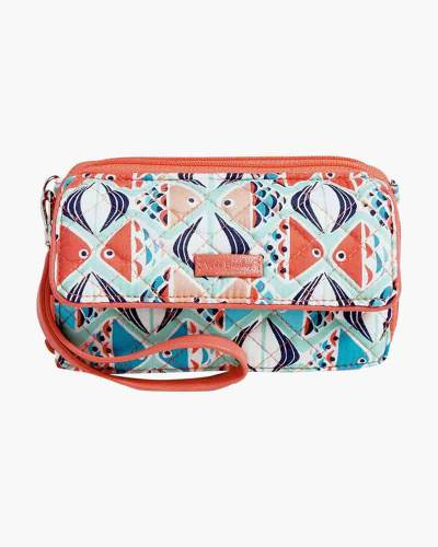 Iconic RFID All in One Crossbody in Go Fish