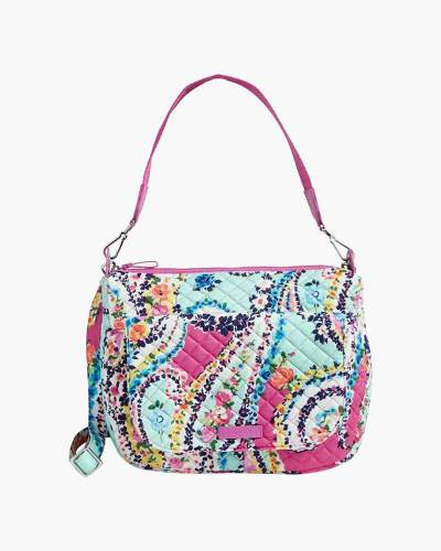Carson Shoulder Bag in Wildflower Paisley