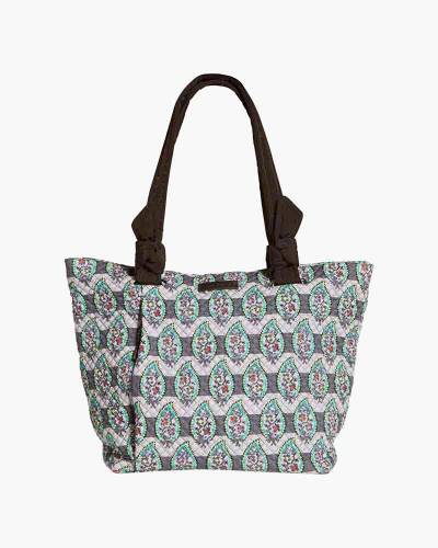 Hadley East West Tote in Paisley Stripes