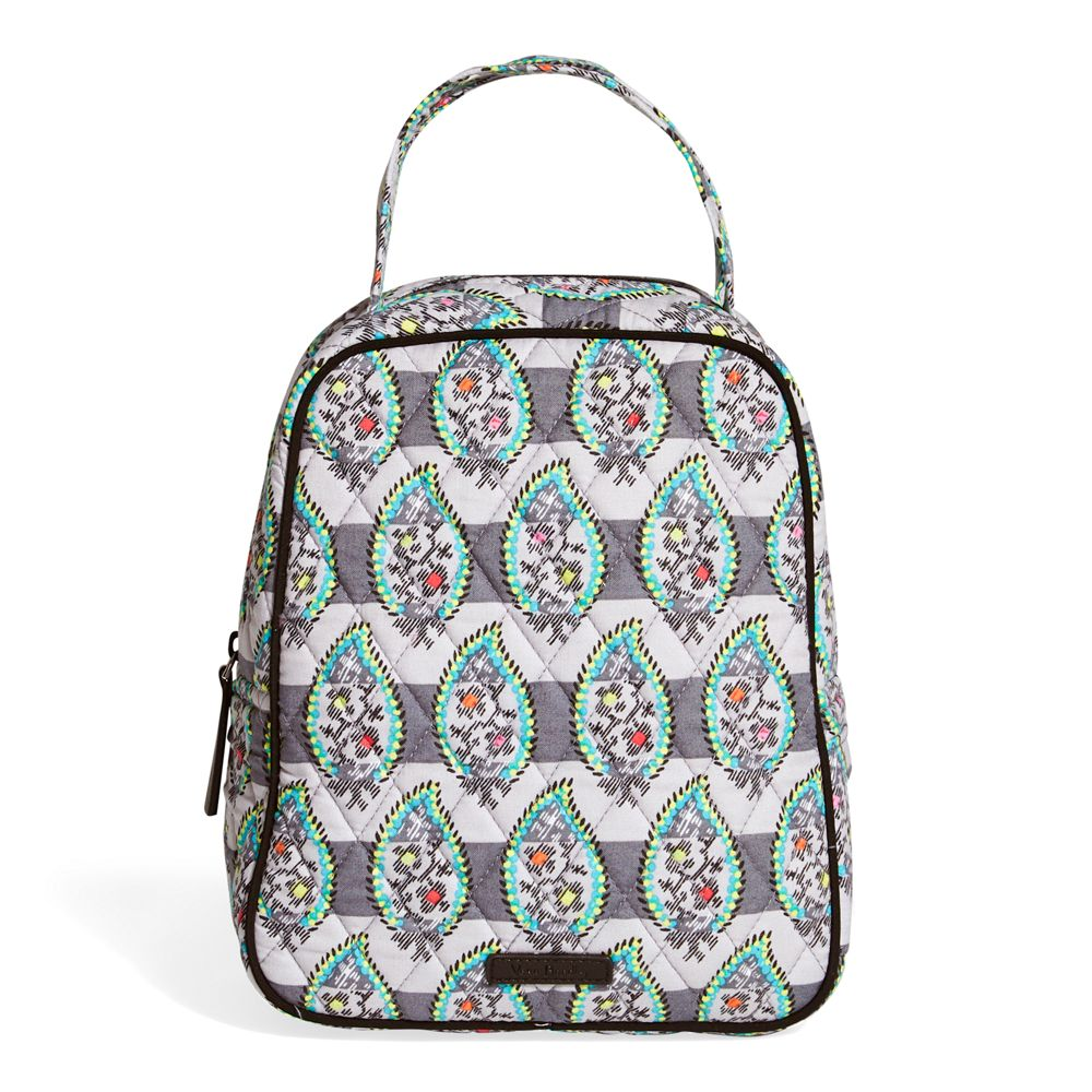 Vera Bradley Lunch Bunch Bag in Paisley Stripe | The Paper Store
