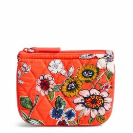 Vera Bradley Coin Purse in Coral Floral