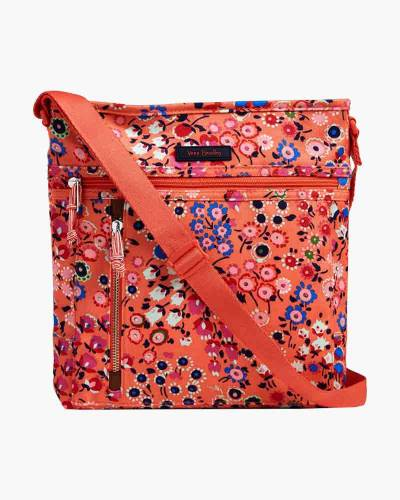 Travel Ready Crossbody in Coral Meadow