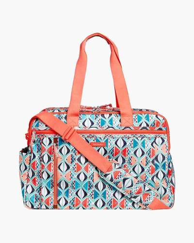 Lighten Up Weekender Travel Bag in Go Fish
