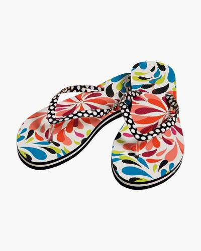Flip Flops in Splash Multi