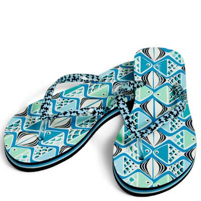 Flip Flops in Go Fish Teal