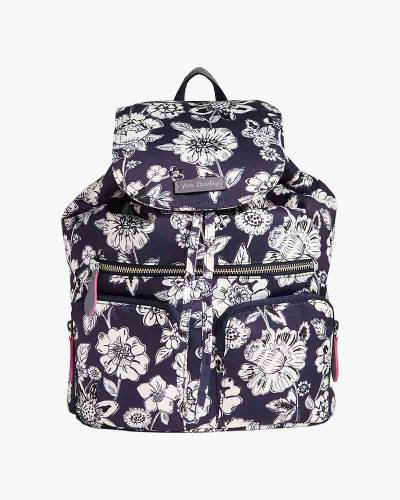 Midtown Cargo Backpack in Midnight Floral