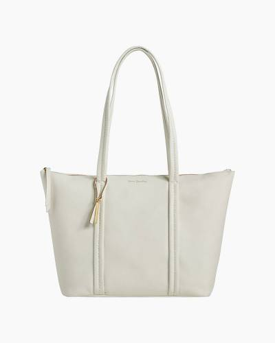 Mallory Tote in Sycamore White Peony