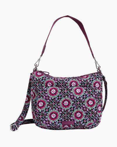 Carson Shoulder Bag in Lilac Medallion