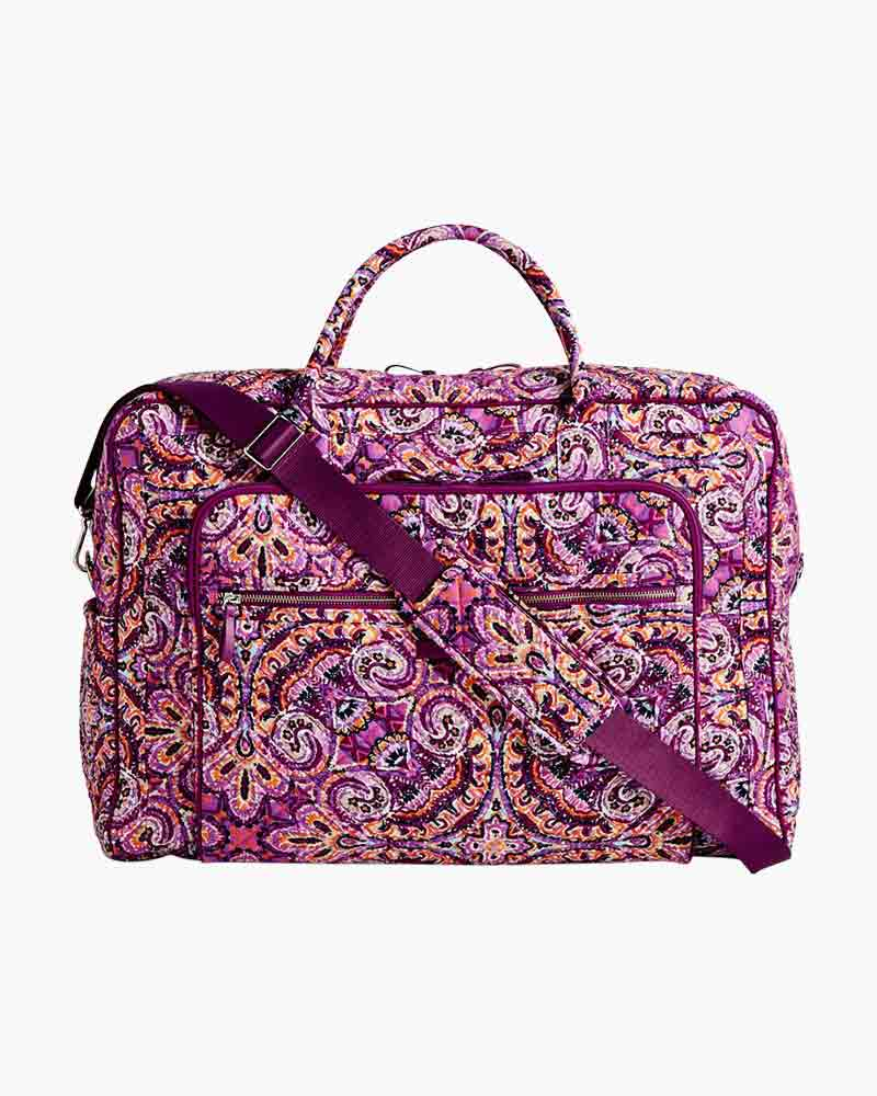 Vera Bradley Iconic Grand Weekender Travel Bag in Dream Tapestry ... 5e9146c6bb708