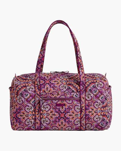 Iconic Large Travel Duffel in Dream Tapestry