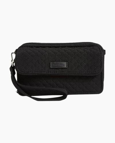Iconic RFID All in One Crossbody in Classic Black