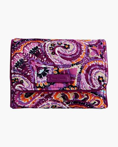 Iconic RFID Riley Compact Wallet in Dream Tapestry