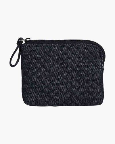 Iconic Coin Purse in Denim Navy