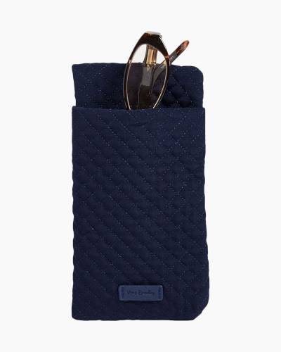 Iconic Double Eye Case in Classic Navy