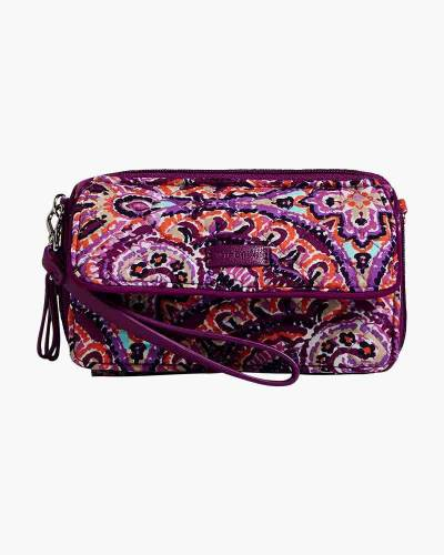 Iconic RFID All in One Crossbody in Dream Tapestry