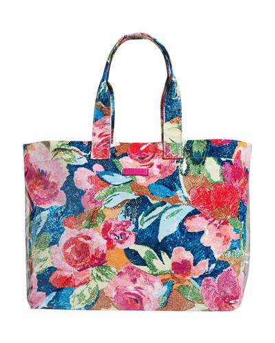 City Shopper Tote in Superbloom