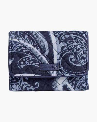 Iconic RFID Riley Compact Wallet in Indio