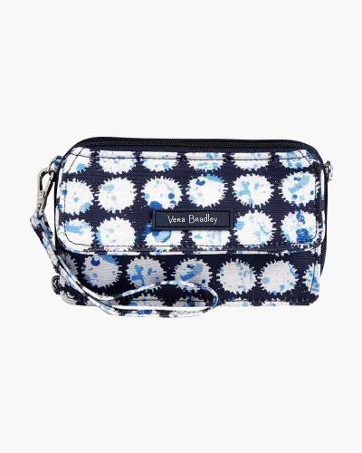 Lighten Up RFID All in One Crossbody in Splash Dot