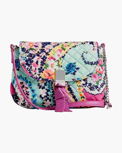 Carson RFID Mini Crossbody in Wildflower Paisley