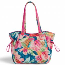 Vera Bradley Iconic Glenna Satchel in Superbloom