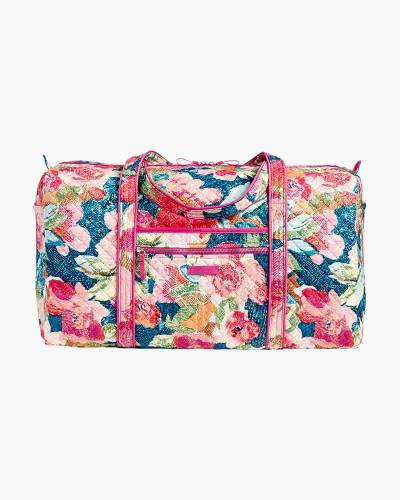 Iconic Large Travel Duffel in Superbloom
