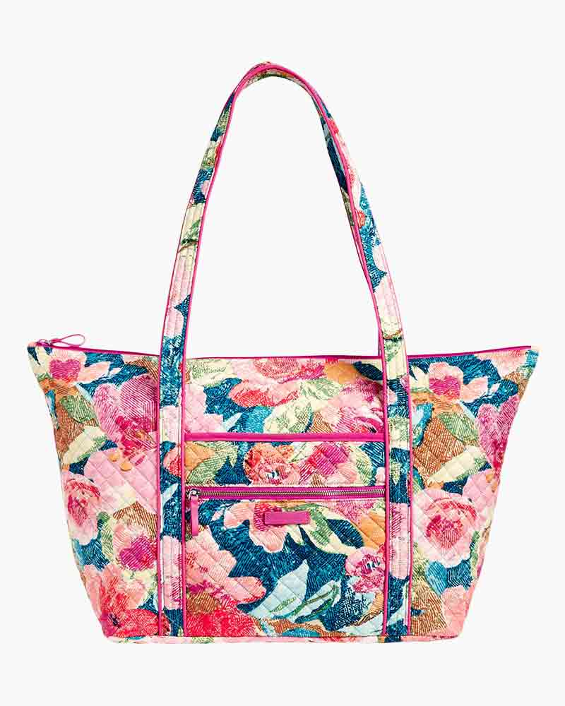 Vera Bradley Iconic Miller Travel Bag in Superbloom   The Paper Store 8fc48df043