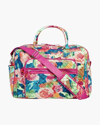 Iconic Weekender Travel Bag in Scattered Superbloom