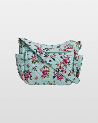Iconic On the Go Crossbody in Water Bouquet