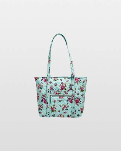 Iconic Small Vera Tote in Water Bouquet