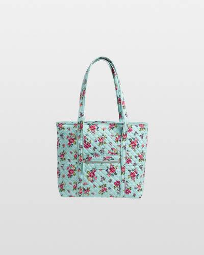 Iconic Vera Tote in Water Bouquet