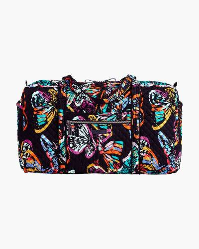 Iconic Large Travel Duffel in Butterfly Flutter