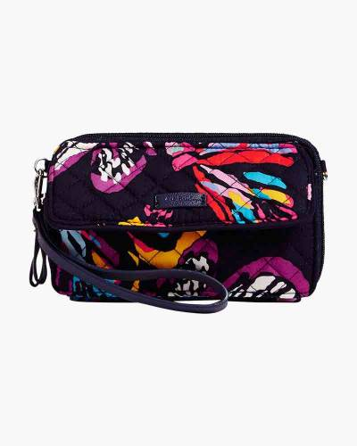Iconic RFID All in One Crossbody in Butterfly Flutter