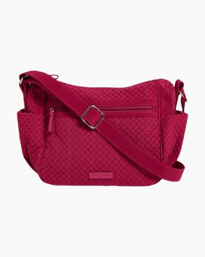 Iconic On the Go Crossbody in Passion Pink