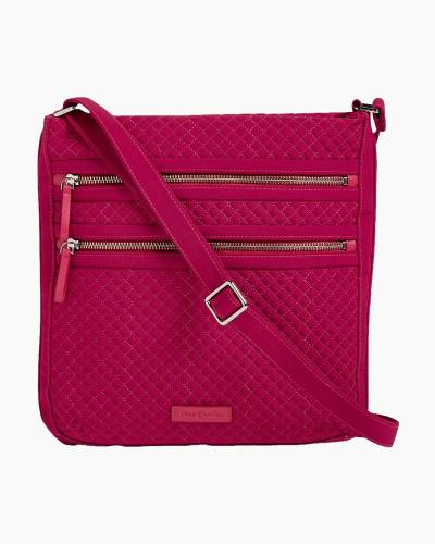 Iconic Triple Zip Hipster in Passion Pink