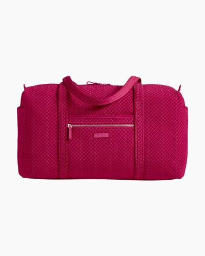 Iconic Large Travel Duffel in Passion Pink