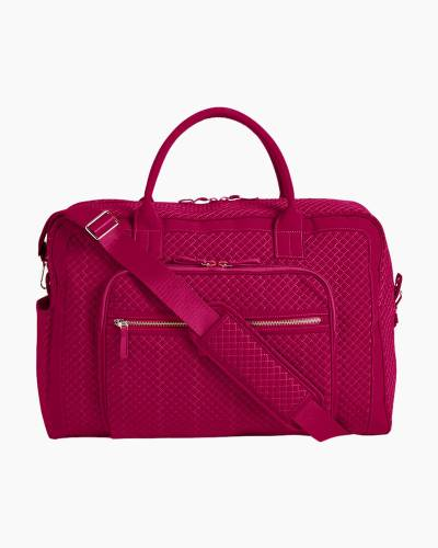 Iconic Weekender Travel Bag in Passion Pink
