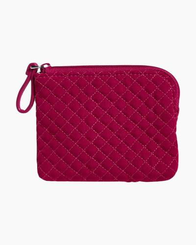 Iconic Coin Purse in Passion Pink