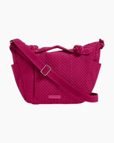 Hadley On the Go Satchel in Passion Pink
